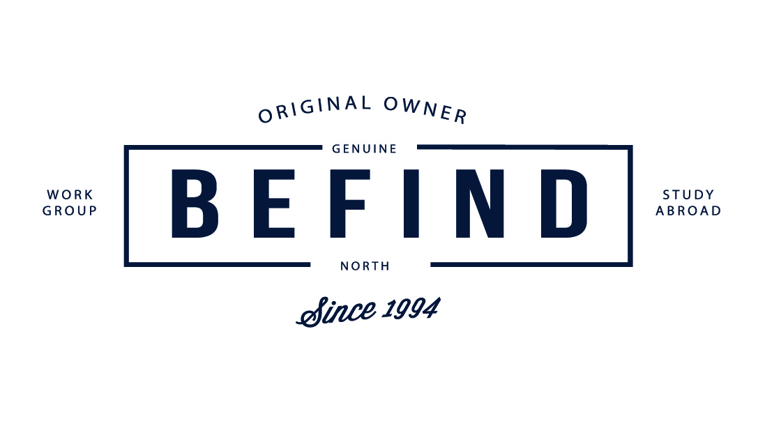 Логотип компании Befind & North (Бифайнд)